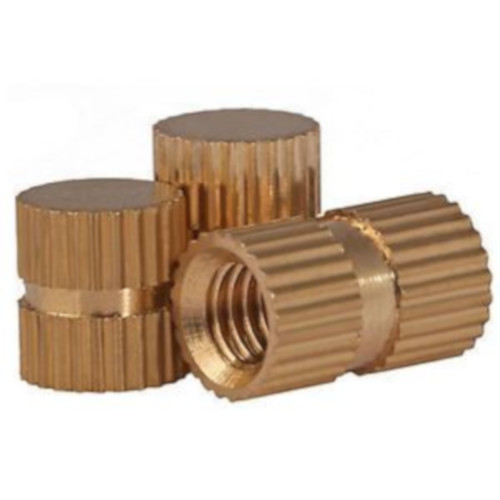 Brass Closed End Inserts, Brass Threaded Inserts for Plastic Molding Installation