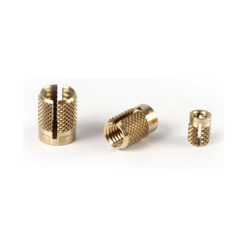 Brass Expansion Inserts, Brass Spread In Inserts also known as Pushin Inserts