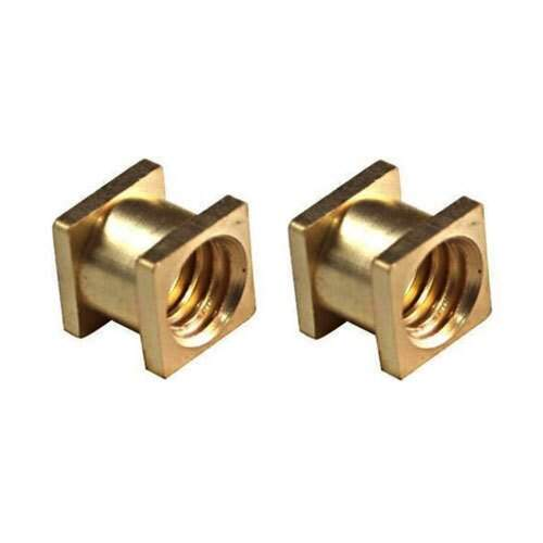 Brass Square Insert Manufacturer For Plastic Molding Installation