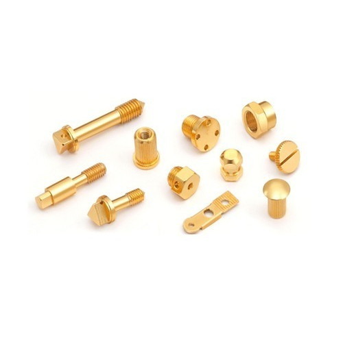 Brass Precision Turned Components As per Customer Order Supply, manufacturer, Exporter From India